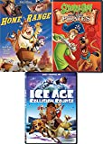 courageous Animated DVD Set Disney Home on the Range & High Seas Scooby-Doo & Pirates + An American Tail bundle Kids Cartoon Collection 3 Kids Favorites