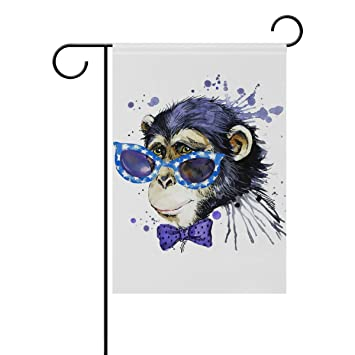 Amazon com : Top Carpenter Watercolor Monkey Double-Sided