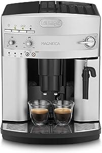 Delonghi ESAM3200S Maquina De Espresso Con Molinillo Integrado, 1450 W, 1.8 Litros, Plateado