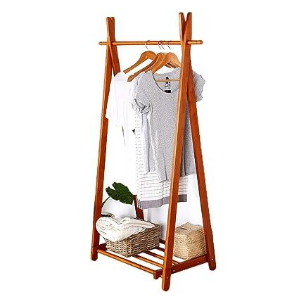 Amazon com: wenlongshop Wooden Coat Rack - 2 Arc Hooks