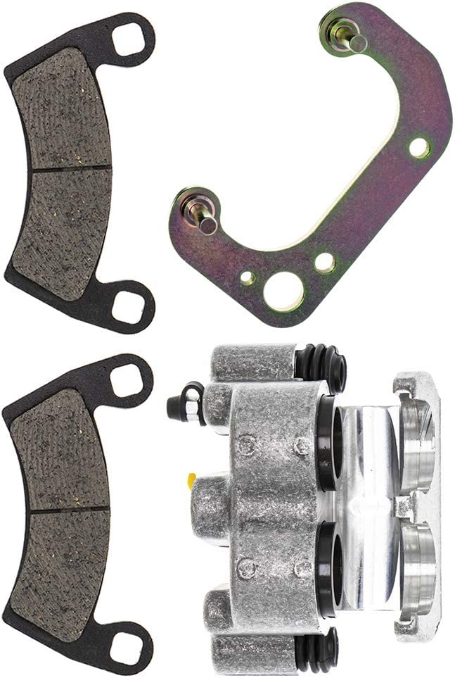 NICHE Front Left Brake Caliper Pads Mounting Bracket For 2008-2015 Polaris Ranger Crew and XP 500 700 1912256