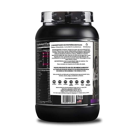 Sascha Fitness - Aislado de Proteína de Suero Hidrolizado (907 gr ...
