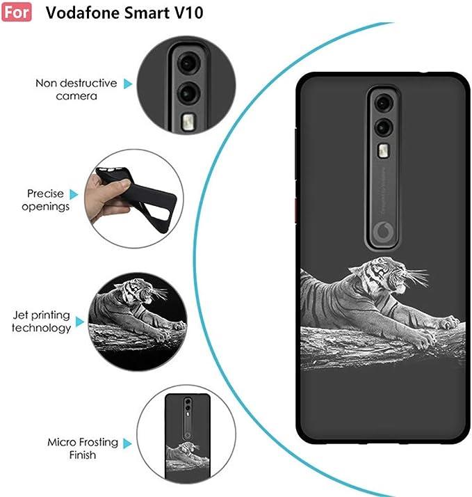 Carcasa de Silicona para Vodafone Smart V10, Incluye Funda de ...