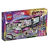 LEGO Friends 41106 Pop Star Tour Bus Building Kit