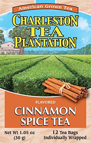 (American Classic Charleston Plantation Pyramid Tea Bags, Cinnamon Spice, 1.05 Ounce)