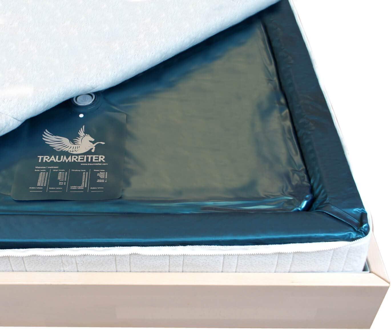 Traumreiter Eine Wasserbett Matratze 90x200 für 180x200 Softside Wasserbett dual Wasserkern-Matratzen Wassermatratzen (95% (1-2 Sekunden)): Amazon.de: Küche & Haushalt -