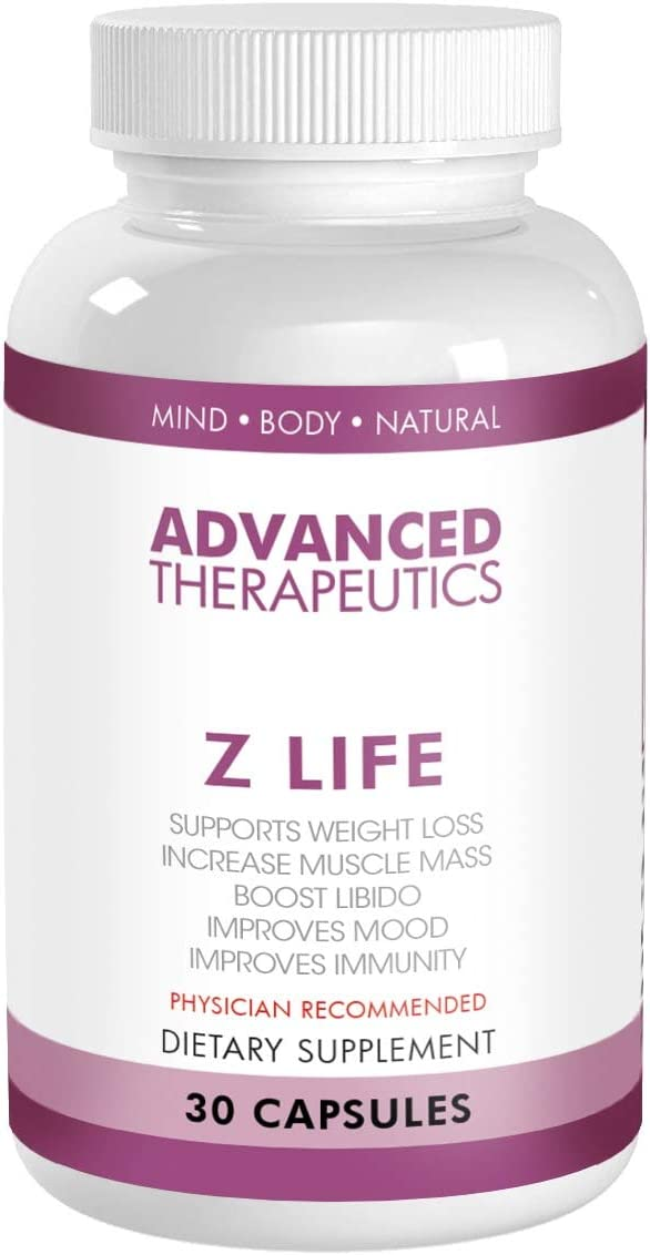 Z Life Weight Loss Supplements, Metabolism Booster and Anti-Aging Vitamins Help Burn Pure Belly Fat, Increase Muscle, Boost Immunity, Increase Libido with Complimentary 60 Minute Personal Trainer Call