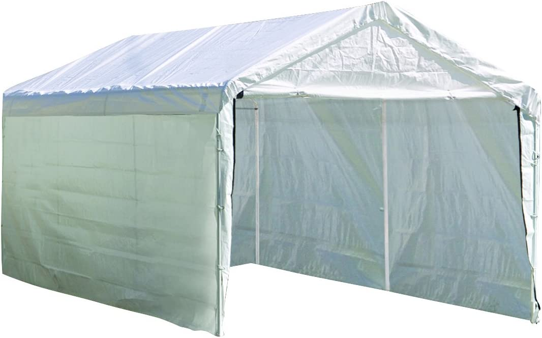 B000N50K6Q ShelterLogic SuperMax Enclosure Kit, 10 x 20 ft. (Frame and Canopy Sold Separately) 61pgWfDuZlL.SL1500_