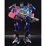 おもちゃ 変形 ロボット BLACKMANBA LS-03F 300mm 腹筋 合金 拡大版 (画像色)