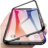 Bounceback Hard Front And Back Case For Vivo X21 (Black)