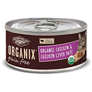 Castor & Pollux, Cat Food Organix Chicken N Liver Pate Organic, 5.5 Ounce