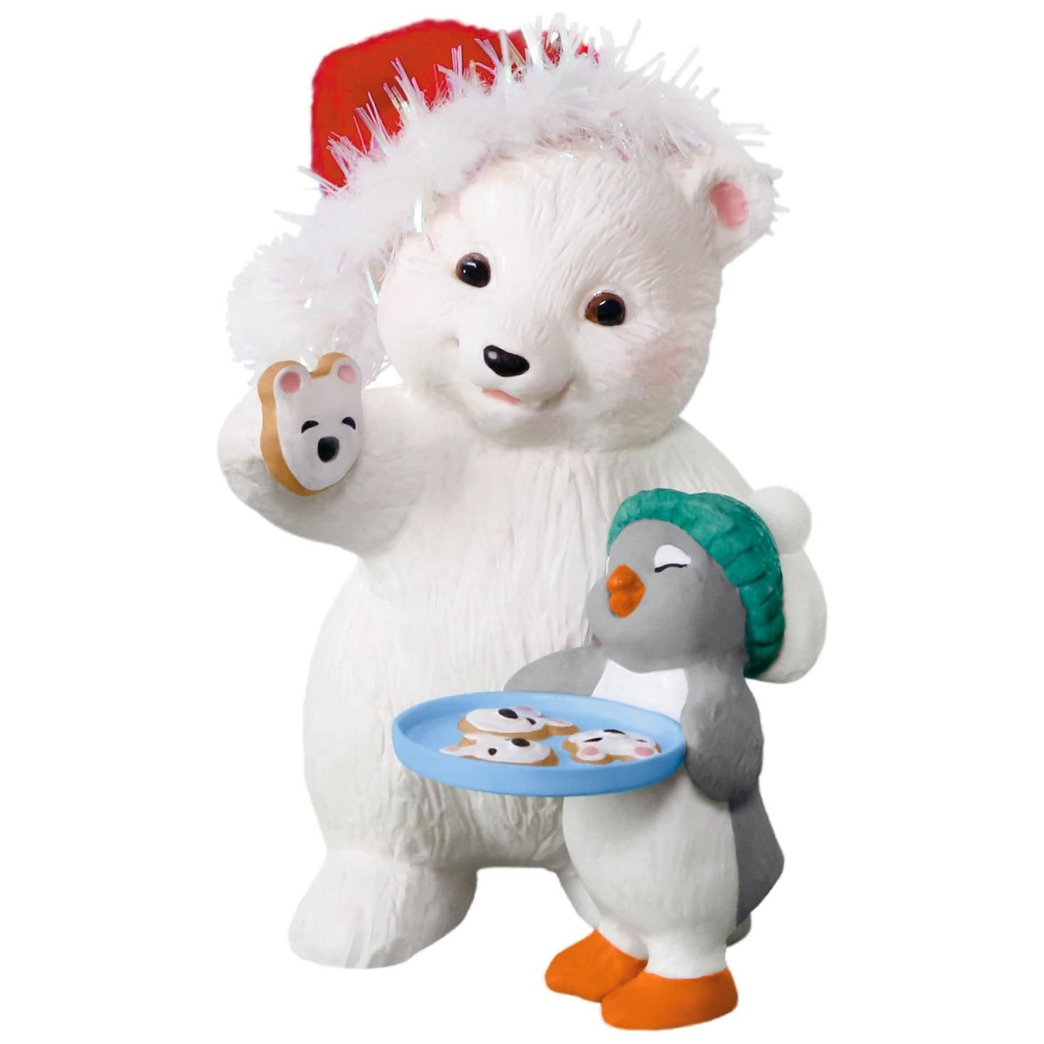 Hallmark Keepsake 2017 Snowball and Tuxedo Cookies for Santa Christmas Ornament