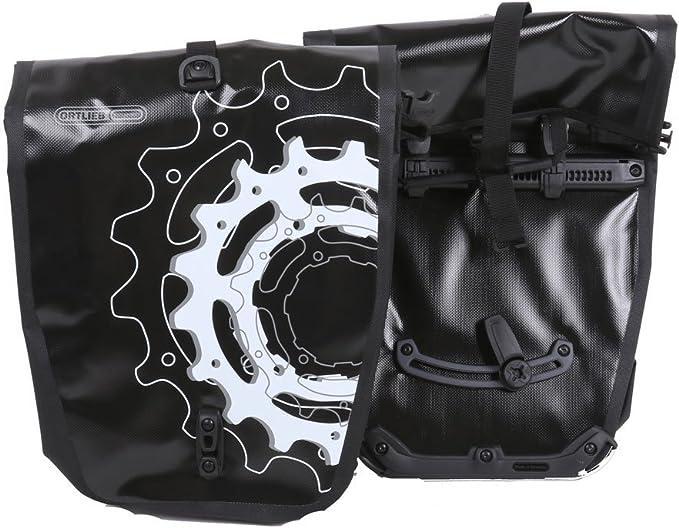 Ortlieb Bicicleta Back-Roller Design, Negras, 32 x 17 x 42 cm, 40 litros, F5461: Amazon.es: Deportes y aire libre