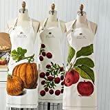 Two's Company Life is What you Bake Of It Cotton Apron Gift Packaged in Pie Tin - Set of 3 Assorted Styles