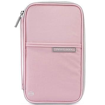 Amazon.com: VanFn Carteras para pasaporte, billetera de ...