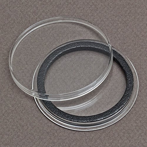 (1) Air-tite Y-50mm Black Ring Coin Holder Capsules for 2″ Military Challenge Coin