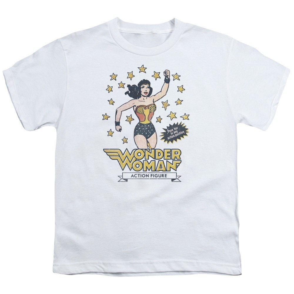 Action Figure Youth T-Shirt DC Comics