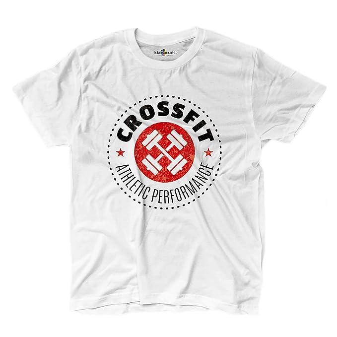 Camiseta de hombre con inscripción Crossfit Athletic Performance, para gimnasio, Sport 2 Shirts: Amazon.es: Ropa y accesorios