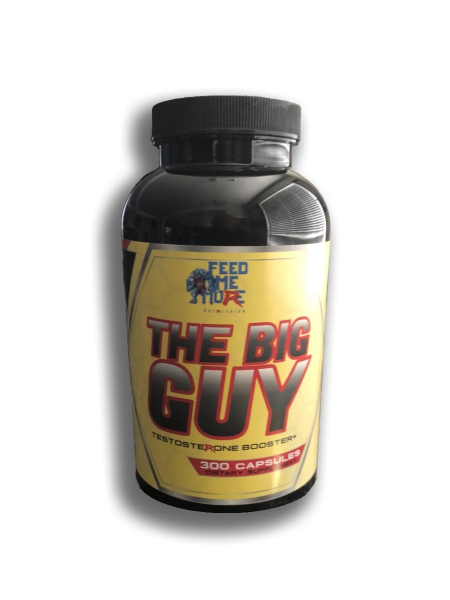 The Big Guy Natural Testosterone and Libido Booster #1