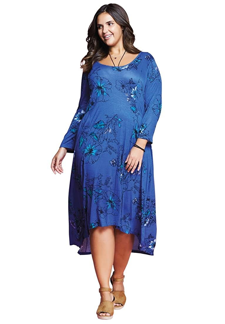 Women's Plus Size High-Low Dress Woman Within