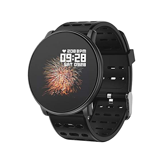 Amazon.com: Men Women Smartwatch for iOS/Android - LEMFO ...