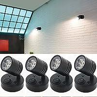 RV Spot LED Reading Light, 12V 6000K White On/Off Switch Wall Lamp Camper Lighting Map Phone Book Van Caravan Boat…