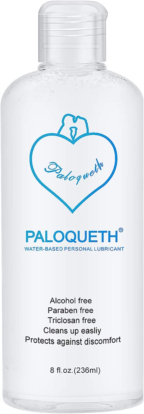 PALOQUETH Lube for Women Men, Personal Lubricants Water Based Lubricant Paraben-Free Hypoallergenic Long Lasting 8 Oz