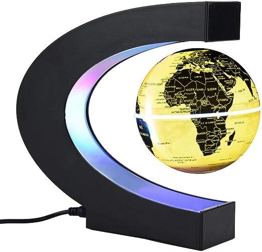 Garosa Globo Flotante Levitación Magnética Lámpara de Escritorio ...