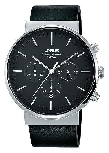 Lorus Reloj Cronógrafo para Hombre de Cuarzo con Correa en Acero Inoxidable RT373GX8: Amazon.es: Relojes