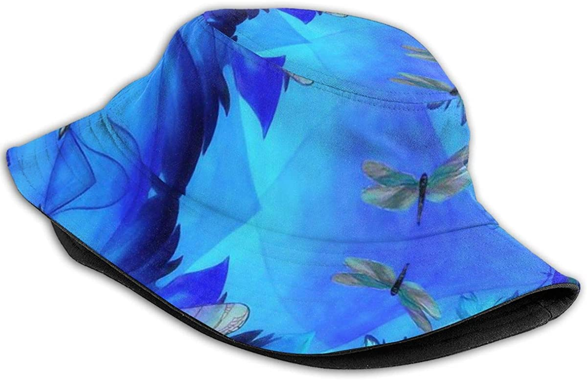 Boys and Girls 100/% Polyester Purple Dragonfly Mesh Cap Low Profile Trucker Mesh Cap for Unisex