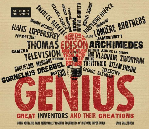 Genius: Great Inventors and Their Creations: Jack Challoner ...