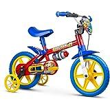 Bicicleta, Nathor, Aro 12, Fireman, Azul e Vermelho