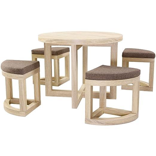 Seconique Cambourne - Juego de mesa y sillas: Amazon.es: Hogar