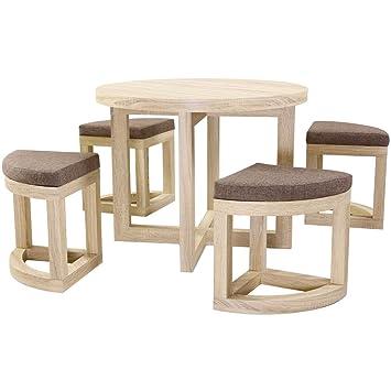 179e24047c Seconique Cambourne Sonoma Oak Living Room Bedroom Furniture - Dining Set