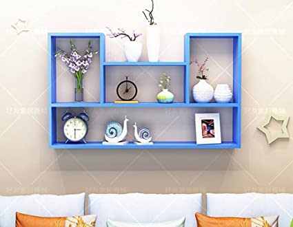 Beau Wall Bookshelves Wall Decorative Frame Shelf Closet Living Room Balcony  Bedroom Kitchen Shelf Wall Hanging Cabinet