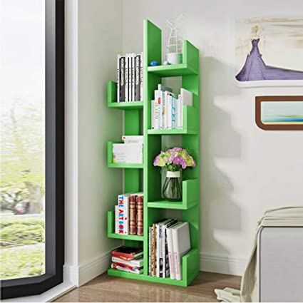 Amazon Shelves MEIDUO 8 Shelf Kids Bookshelf With Storage