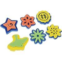 D DOLITY 6pcs Pinceles de Niños Herramientas de Dibujo para Niños Juguetes Educativos imaginación Pintar
