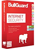 BullGuard Internet Security for Windows PC - 1 Year - 3 User Licence with 5GB of Online Storage