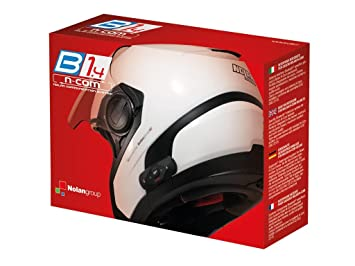 Nolan N-Com N-Com Kit de intercomunicador con Bluetooth para Casco de Moto