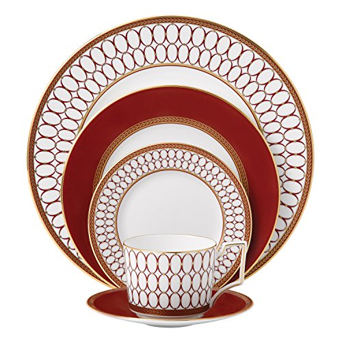 Red Place Setting - Renaissance Red 5-Piece Place Setting