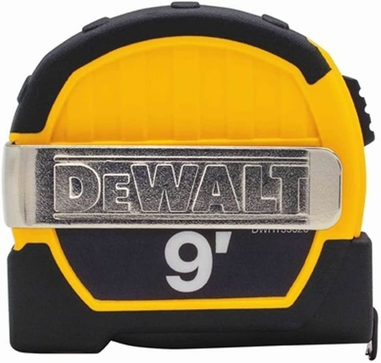 Dewalt 8m 25 ft Tape Measure Set 2-Pack by DEWALT NEW DWHT81559-0 and 5m 16 ft