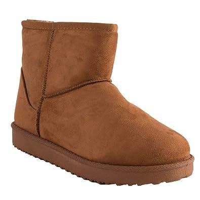 ddd628d3a762c7 Primtex Bottes fourrées Femme Forme Boots Basse à Fourrure synthétique-36