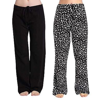Hanomes Spray para Mujer Pantalones sólidos - Pantalones de ...