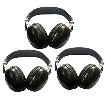 ... trasero Sistema de entretenimiento inalš¢mbrico Reproductor de DVD Mš®viles Juegos en coche TV Všªdeo Audio Escuchar auriculares: Amazon.es: Electrónica
