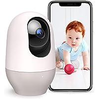 Nooie Vigilabebés, cámara de vigilancia IP inalámbrica WiFi Interior 1080P con micrófono y Altavoz, visión Nocturna…