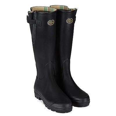 Le Chameau Women's Vierzon Jersey Lined Boots   Rain Footwear