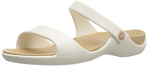 e6b923087 Crocs Cleo V W, Sandalias con Punta Abierta para Mujer: Amazon.es: Zapatos  y complementos