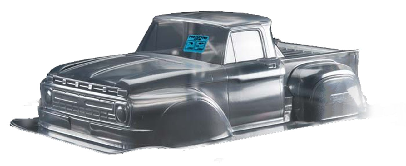 Proline 340800 1966 Ford F-150 Clear Body for 2WD Slash/SC10 PRO340800