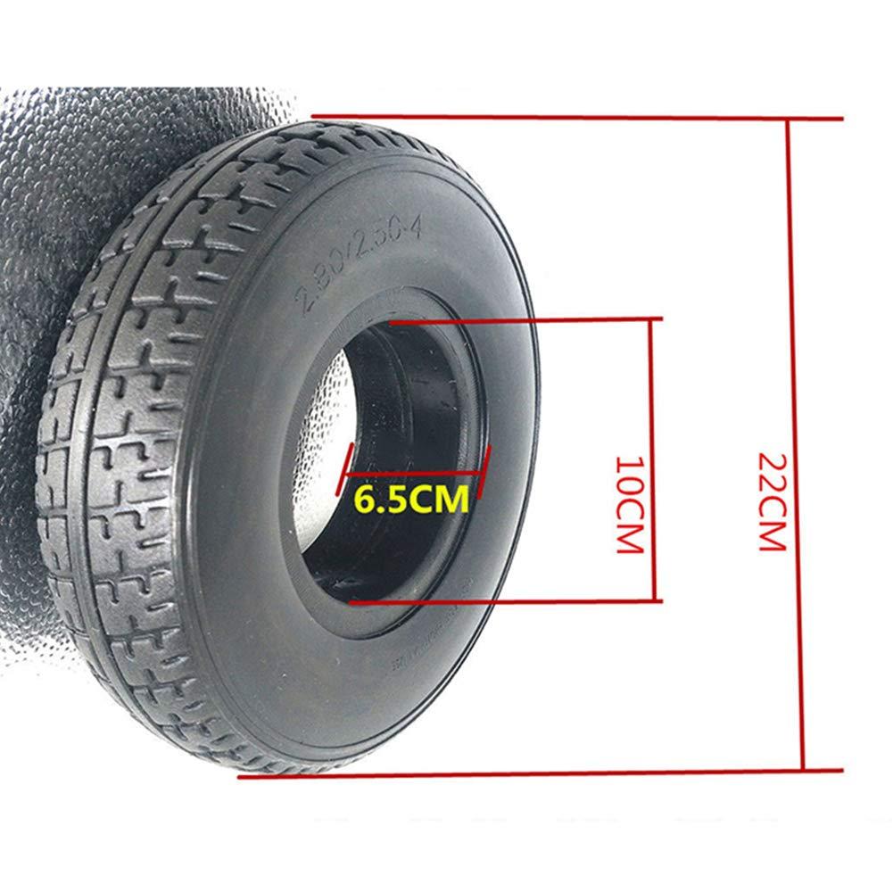housesweet Neum/ático s/ólido de 9 pulgadas 2.80//2.50-4 Scooter de movilidad Neum/ático para silla de ruedas Antiexplosi/ón y no inflable