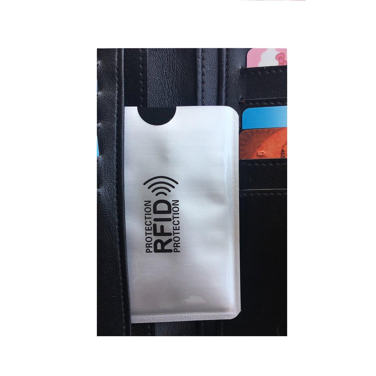 R/ésistant Aux D/échirements /& /étanche Identity Theft Case Kit pour Homme et Femme DL Prot/ège Carte NFC blocage porte-cartes de credit Tient dans Pocket Wallet // Sac // Bourse RFID Protection